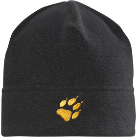Jack Wolfskin Real Stuff Fleece Hat Kids black